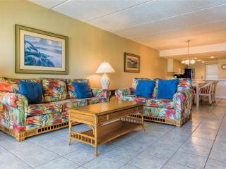 BEACHFRONT resort with 3 pools, GREAT VIEWS, hotel features with condo space!