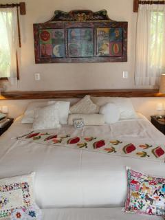 King size beds in all 4 suites.