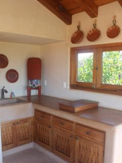 Kitchenette outside of La Palma suite