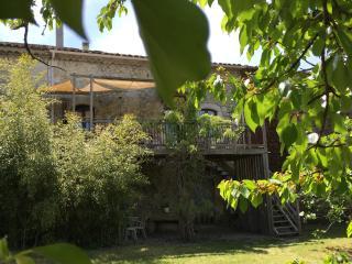 Maison du 18è s Mas et jardin 3 * - Piscine jardin, Lagorce