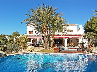 5 bedroom Villa in Moraira, Costa Blanca, Spain : ref 2026158, La Llobella