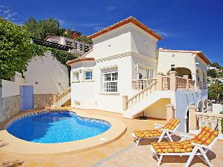 4 bedroom Villa in Moraira, Costa Blanca, Spain : ref 2027569, La Llobella