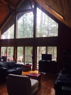 Beautiful Log House In Bolton In Lake George