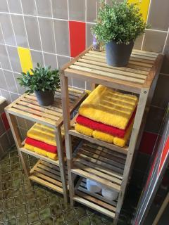 Handtücher/Badetücher inkl.