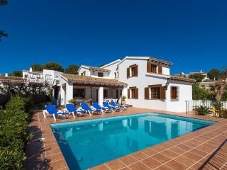 5 bedroom Villa in Moraira, Alicante, Costa Blanca, Spain : ref 2239920, La Llobella
