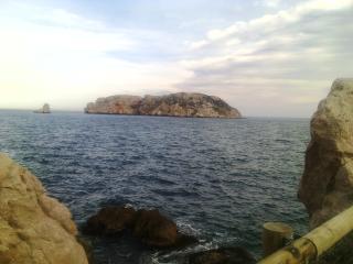 Sol y mar. L'Estartit. Costa Brava. Islas Medes.