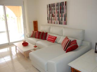 Contemporary new modern apartment pool views, Los Alcazares