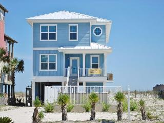Sea Blue Beachfront Luxury West Beach Home with Private Pool, Gulf Shores