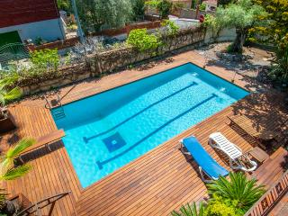 luxury with spectacular swimming pool 10% discount, Lloret de Mar