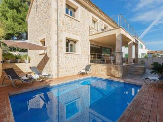 4 bedroom Villa in Cala San Vicente, Balearic Islands, Spain : ref 5489372