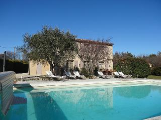 4 bedroom Villa in La Roque sur Pernes, Provence, France : ref 2300804
