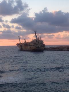 Ship Wreck at Sea Caves 10 minutes away
