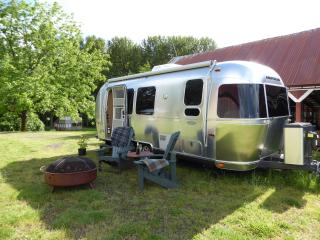 Glamping in the Airstream Travel Trailer, Silverton