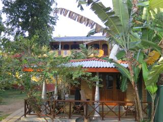 Villa Pelena at the river, Weligama