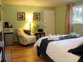 Centrally located, artsy room w/ garden & parking, Bellevue