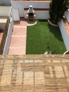 Vistas desde la casa y jardín