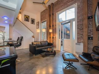 Modern old town loft with huge private patio, Victoria