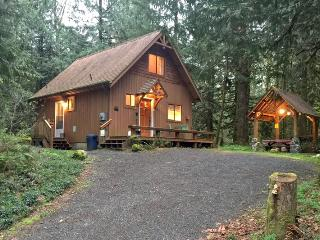 67MF Very Private Cabin with a Hot Tub near Silver Lake, Maple Falls