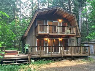 49SL Country Cabin near Mt. Baker with a Hot Tub and WiFi, Glacier