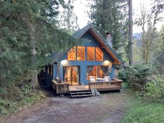 53MBR Cozy Mt. Baker Cabin with a Hot Tub and WiFi, Glacier