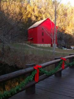 Alley Mill, all dressed up for the holidays!
