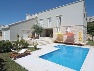 4 bedroom Villa in Pag, Kvarner, Croatia : ref 2095491