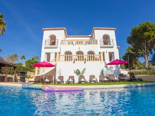 5 bedroom Villa in Moraira, Costa Blanca, Spain : ref 2096083, La Llobella
