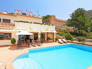 4 bedroom Villa in Moraira, Costa Blanca, Spain : ref 2214160, La Llobella