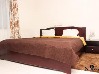 Queen size bed for the master bedroom