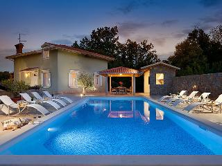 4 bedroom Villa in Lovran, Kvarner, Croatia : ref 2237142
