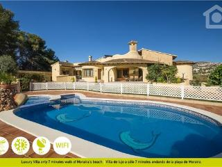 5 bedroom Villa in Moraira, Costa Blanca, Spain : ref 2262566, La Llobella