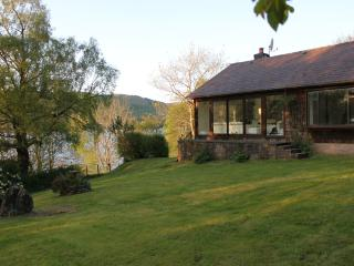 Outstanding waterside location with fishing rights, Pitlochry