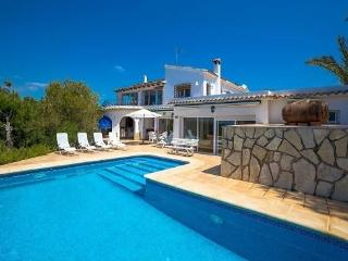 6 bedroom Villa in Moraira, Costa Blanca, Moraira, Spain : ref 2301980, La Llobella