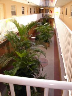 View of atrium from second floor.