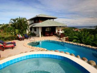 This villa enjoys spectacular sea views., Cap Estate