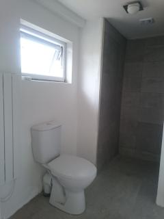 On-suite bathroom for family room