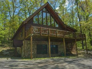 Private & Delightful 3 Bedroom Log cabin just minutes from area activities!, McHenry