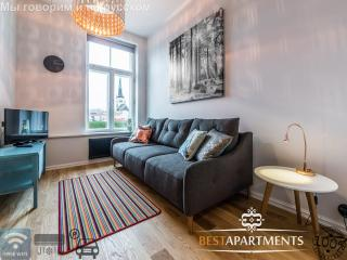 Great studio apartment with aircon in Rotermanni quarter, Tallinn