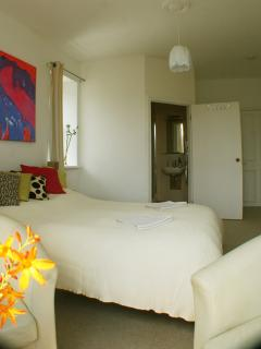 room 2. large sunny room with en-suite