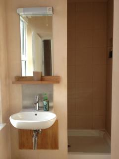 room 3. en-suite with large shower