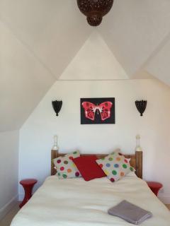 room 4. double attic room en-suite with sea views