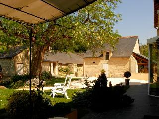 Le hameau de  Verrière, Chinon