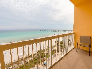 FREE Beach Chairs~Gulf Front Condo w/ Balcony-2 Pools-Gym+MORE~Near Pier Park, Panama City Beach