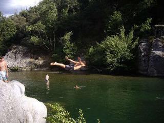 camping la berge Fleurie, Mialet