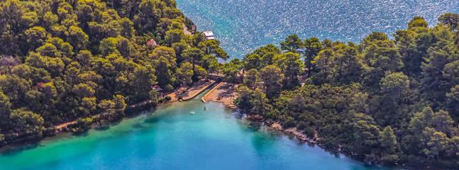 Little bridge -National park Mljet