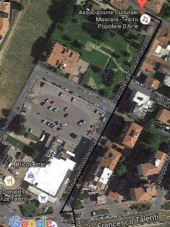la zona dal satellite