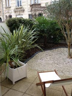 Studio Aliénor - La Rochelle - jardin privatif en centre ville