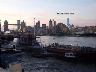 St Katharine's Dock Zone1 Large 2 bed apartment