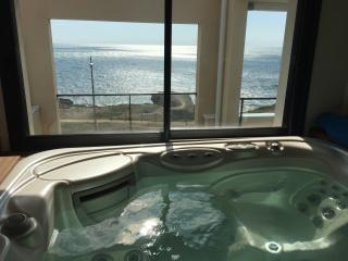 Penthouse, piscine intérieure, spa, vue mer 180°, Saint-Hilaire-de-Riez