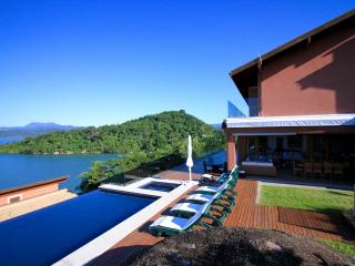 Spectacular view to Bay of Paraty, Parati